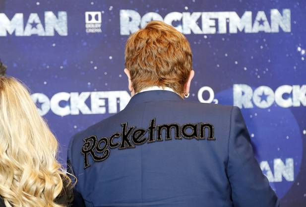 "Elton John an der Premiere des Films ""Rocket Man""."