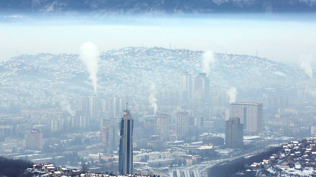 Jährlich sterben in Europa über 400'000 Menschen an Luftverschmutzung. (Archivbild)