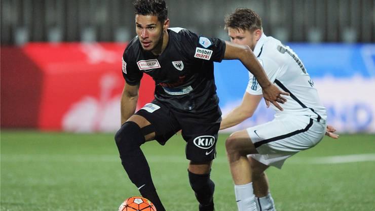 Miguel Peralta ist der Flügelstürmer des  FC Aarau.