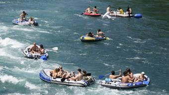 Seit diesem Jahr braucht man Schwimmwesten an Bord. Anziehen muss man sie nicht.