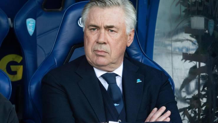 Napoli-Coach Carlo Ancelotti sieht gegen Empoli nicht viel Erfreuliches