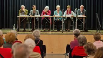Seniorenrat hat eine Podiumsdiskussion zum Thema «Zeit im Alter, Umgang mit einem kostbaren Gut» organisiert