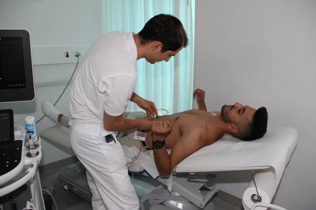 Eine Ultraschall-Demo
