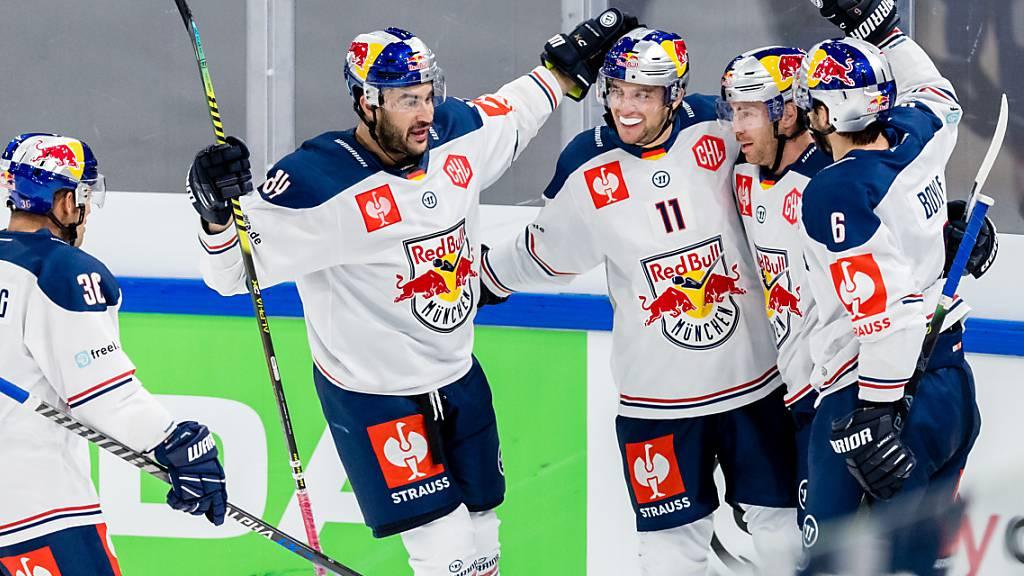 Fribourg-Gottéron gegen München, ZSC Lions gegen Rögle