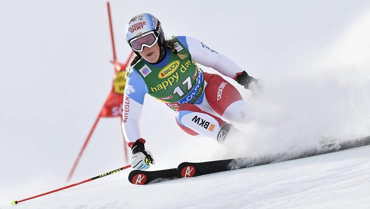 Mélanie Meillard hat sich kurz vor Beginn der Olympischen Spiele bei einem Sturz im Riesenslalom-Training in Pyeongchang verletzt