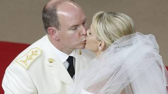 Das zweite Mal ganz in weiss: Fürst Albert und Charlene sagen nochmals «oui»