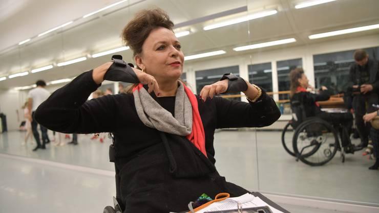 «Ich wollte nicht noch ein Jahr so rumsitzen»: Galina Gladkova in ihrer Tanzschule «Basel Dance Academy».