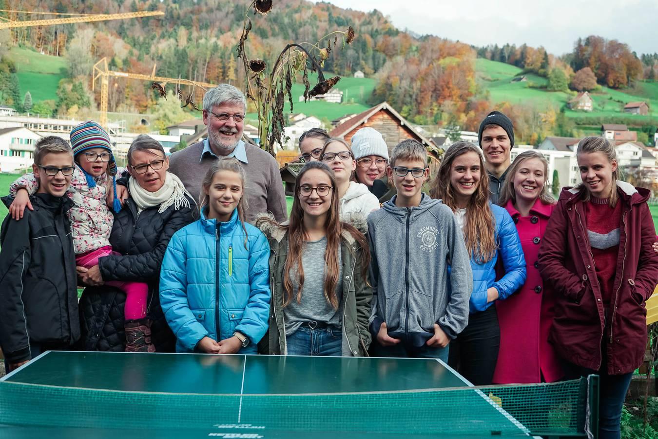 Besuch bei der Toggenburger Grossfamilie (© FM1Today)