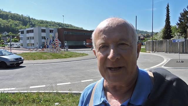 Bad Zurzach: Papa Moll grüsst jetzt auch vom Kreisel