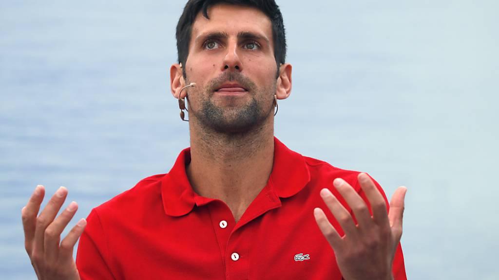 Djokovic hält Covid-19-Massnahmen für US Open für inakzeptabel