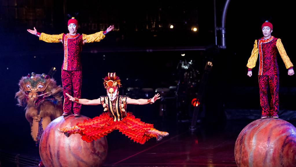 Das kanadische Unternehmen Cirque du Soleil hat sein Insolvenzverfahren verlassen und sieht für sein Geschäft wieder Licht am Ende des Tunnels. (Archivbild)