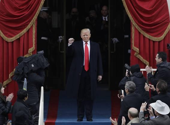 Kein Tag ohne Trump-News: 2017 war geprägt von Fettnäpfchen, Eskapaden und Fake News vom 45. amerikanischen Präsident.