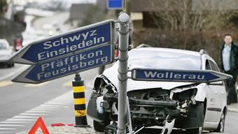 Am meisten Verkehrstote gibt es auf der Strasse - insgesamt liegt die Zahl der Verkehrstoten aber so tief wie noch nie seit Beginn der Aufzeichnungen 1940. (Symbolbild)