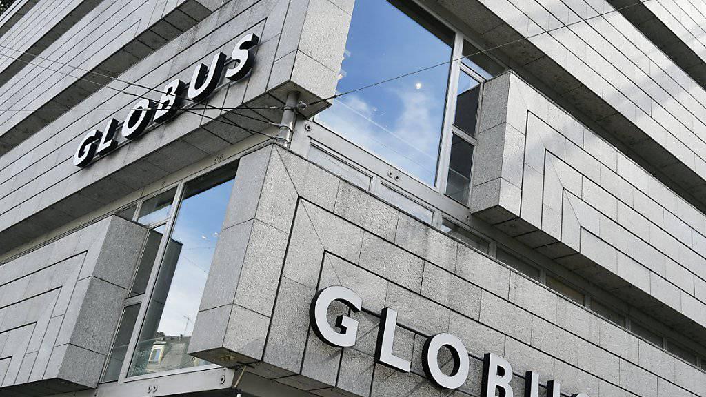 Die Warenhausgruppe Globus rechnet im laufenden Jahr mit einem Umsatzrückgang von rund 3 Prozent. (Archiv)