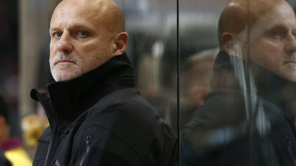 Die Zeit von Benoît Laporte als Trainer der SCL Tigers ist abgelaufen