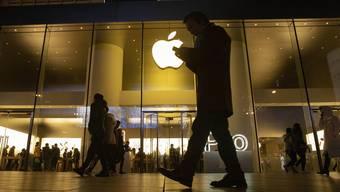 Apple überzeugt mit Rekordgewinn. .(AP Photo/Ng Han Guan, File)