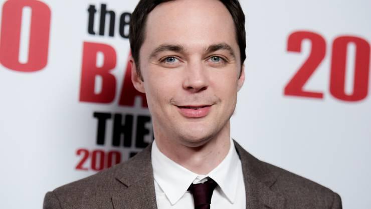 "Jim Parsons spielt den Physiker Sheldon in der 200. Episode der Kultserie ""The Big Bang Theory"" (Archiv)"