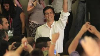 Neuer Parteichef der spanischen Sozialisten: Pedro Sánchez (Archiv)