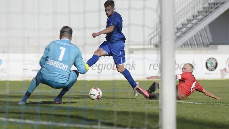 Der FC Grenchen verlor (Archivbild aus dem Cupspiel gegen Illiria).