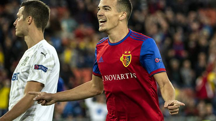 Kevin Bua schoss die ersten beiden Treffer des FC Basel