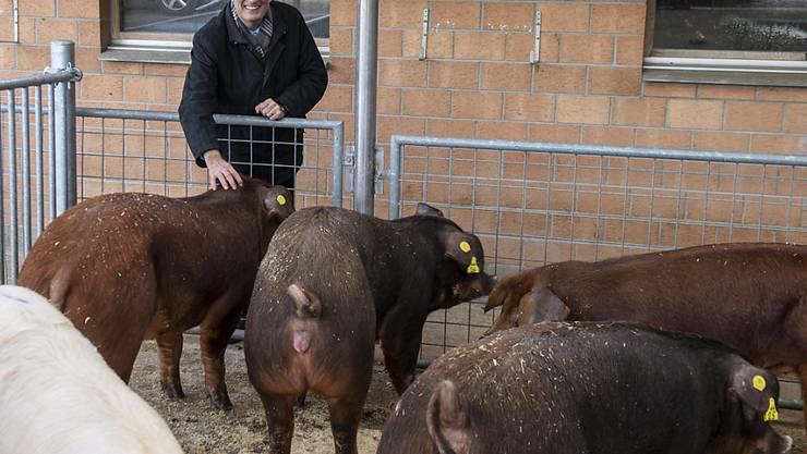 Markus Ritter, Biobauer und Präsident des Bauernverbands, macht sich für eine Agrar-Allianz mit den Grünen stark. (Archivbild)