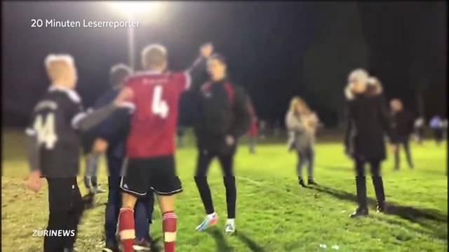 4 Verletzte nach Schlägerei an Junioren-Fussballmatch
