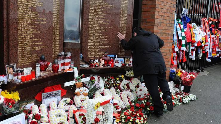 Überwältigend: Das Hillsborough-Memorial in Liverpool.
