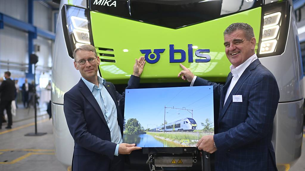 Neue «Flirt»-Züge fahren ab 2021 auf dem BLS-Streckennetz