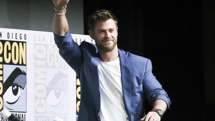 """Er legt ein """"Ja"""" in sein Stimmkuvert: Schauspieler Chris Hemsworth setzt sich für die Heiratserlaubnis für gleichgeschlechtliche Paare ein. (Archivbild)"""