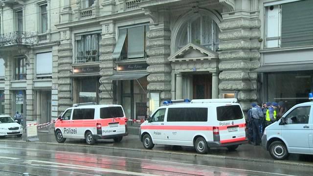 Millionenraub in Zürich