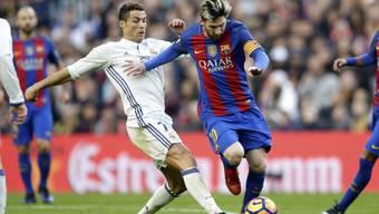 Das Duell der beiden Giganten: Cristiano Ronaldo und Lionel Messi