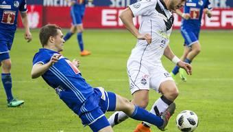 Luzern Captain Claudio Lustenberger bestritt sein 400. Spiel für den FC Luzern