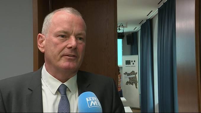 Energiedirektor Stephan Attiger: «Eine knappe Ablehnung ist natürlich enttäuschend.»
