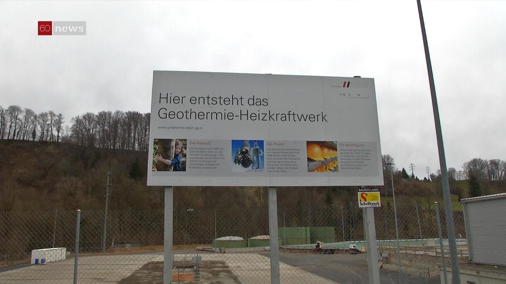 Geothermie-Projekt