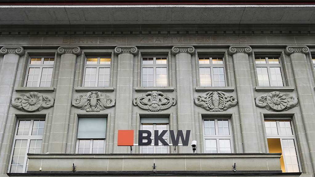 Der Hauptsitz der BKW am Berner Viktoriaplatz. (Archivbild)