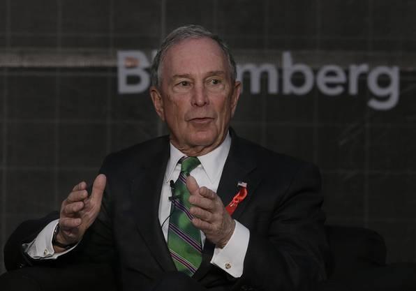 Platz 8: Der ehemalige Bürgermeister von New York, Michael Bloomberg (Vermögen: 40 Milliarden Dollar)