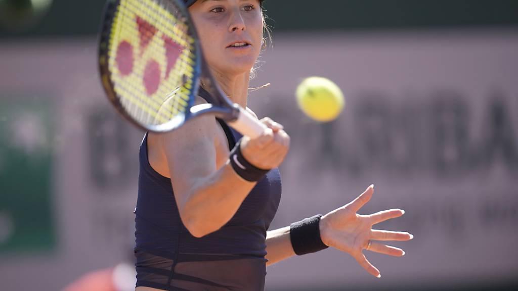 Belinda Bencic gewann ihren ersten Rasenmatch der Saison nicht ohne Mühe