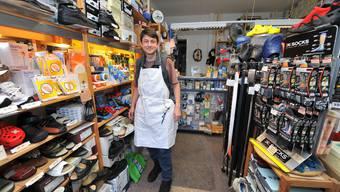 Stefan Kliegl in seinem Geschäft an der Bahnhofstrasse, das er vor elf Jahren vom Vater übernahm.