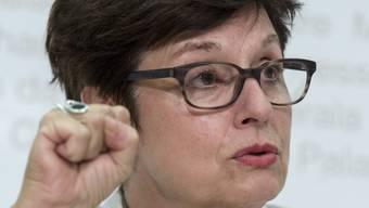 Die Basler SP-Ständerätin Anita Fetz fordert weiterhin die Freistellung des Basler Staatsschützers.