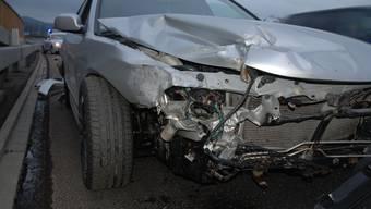 Am Auto entstand ein beträchtlicher Sachschaden.