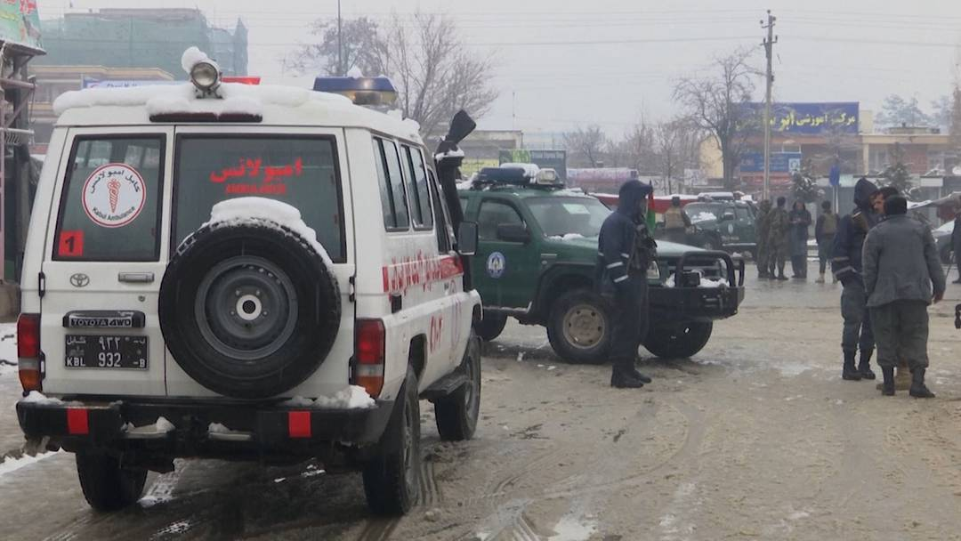 Kabul: Mindestens sechs Tote nach Explosion nahe Militärakademie