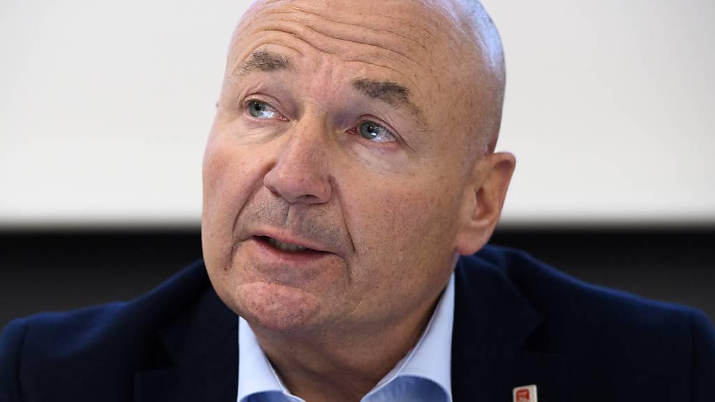 Ligadirektor Denis Vaucher hatte diesmal nichts Brisantes zu verkünden