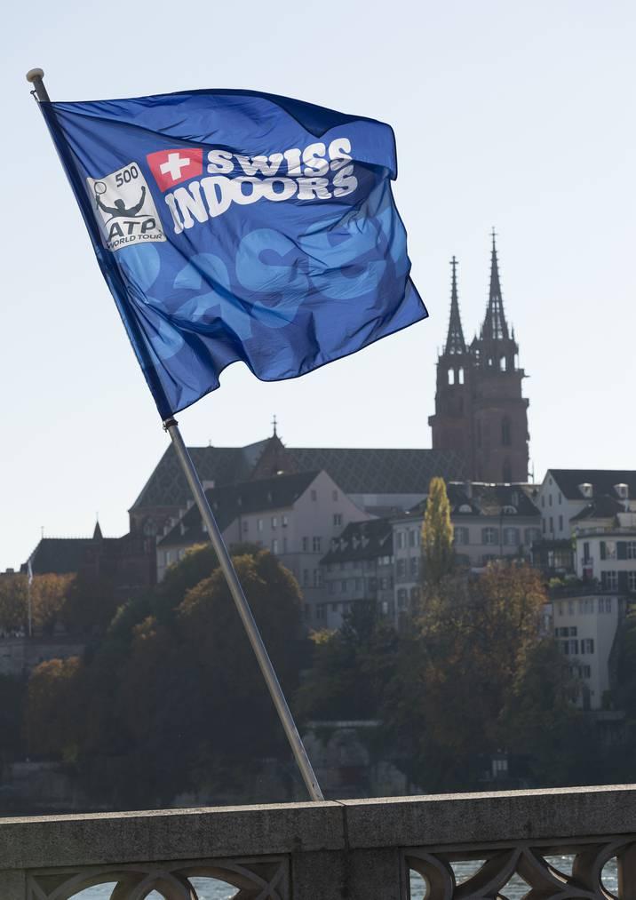 Die Swiss Indoors finden jeweils Ende Oktober in Basel statt.