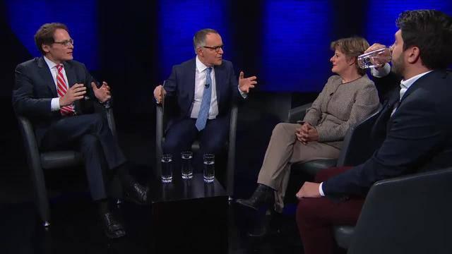 Schweizer Wirtschaft — Flüchtlingsdrama — Donald Trump