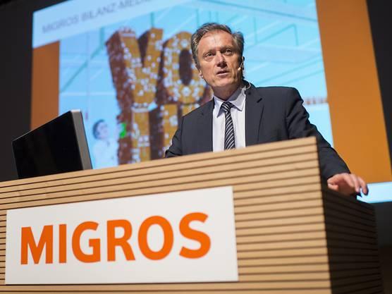 """Nach einem fast kompletten Berufsleben bei Migros sagt Chef Herbert Bolliger: """"Ich bereue nichts."""" (Archivbild)"""