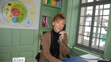 Petra Greykowski setzt sich dafür ein, dass Kinder mitreden dürfen: bei den Ferien, in der Schule, beim Essen