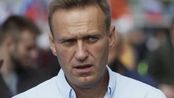 Kreml-Kritiker Alexej Nawalny ist nach Angaben seiner Hausärztin möglicherweise mit Gift in Berührung gekommen. (Archivbild)