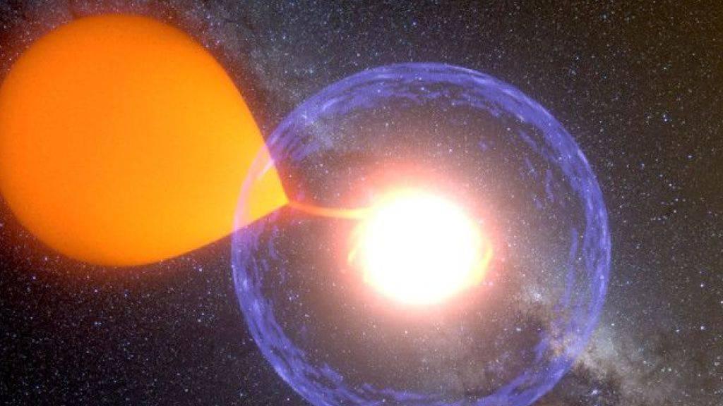 Explosion kosmischer Wasserstoffbombe komplett beobachtet