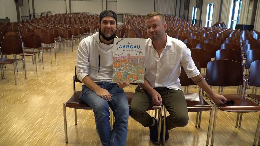 Gewinne das «Aargau Wimmelbuch» vom Cabaret Divertimento signiert
