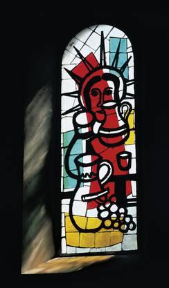Eindrückliches Spätwerk: «Die Hochzeit von Kana» von Fernand Léger in der Kirche von Courfaivre.